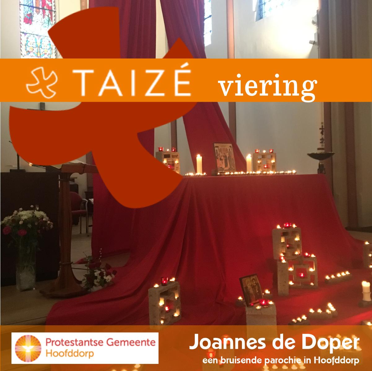 Taizé vieringen in Hoofddorp