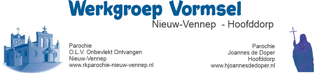 Werkgroep Vormsel Nieuw-Vennep en Hoofddorp